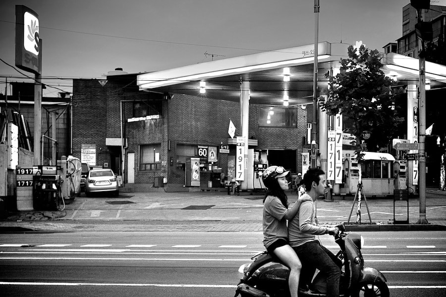 Photograph Motorbike at night by Kimhwan SEOULIST on 500px