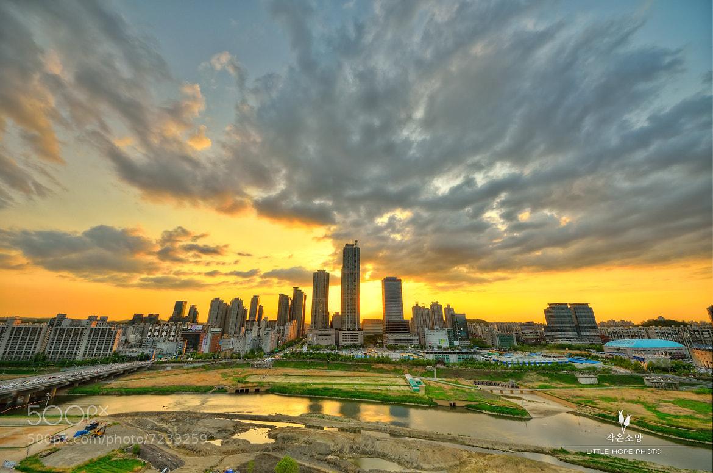 Photograph Mokdong Sunset by Minsoo Han on 500px