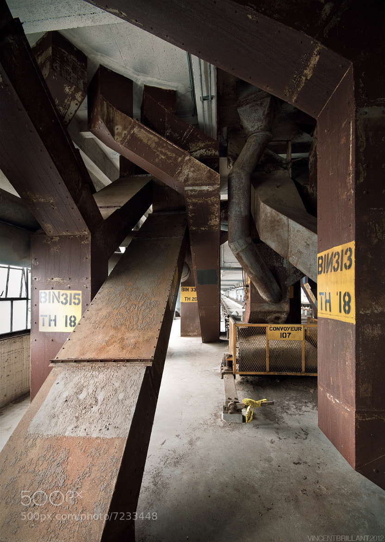 Photograph Labyrinthe Industriel by Vincent  Brillant on 500px