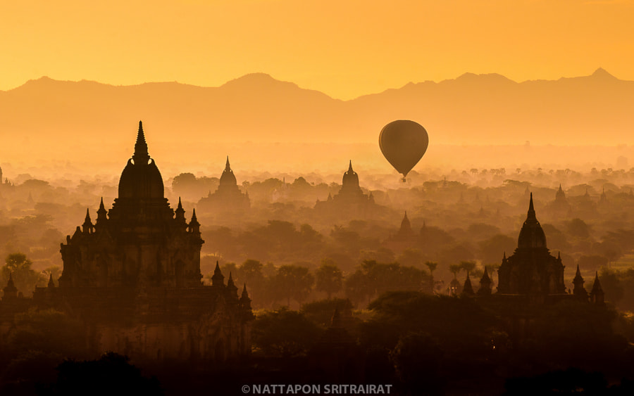 Bagan by Nattapon Sritrairat on 500px.com