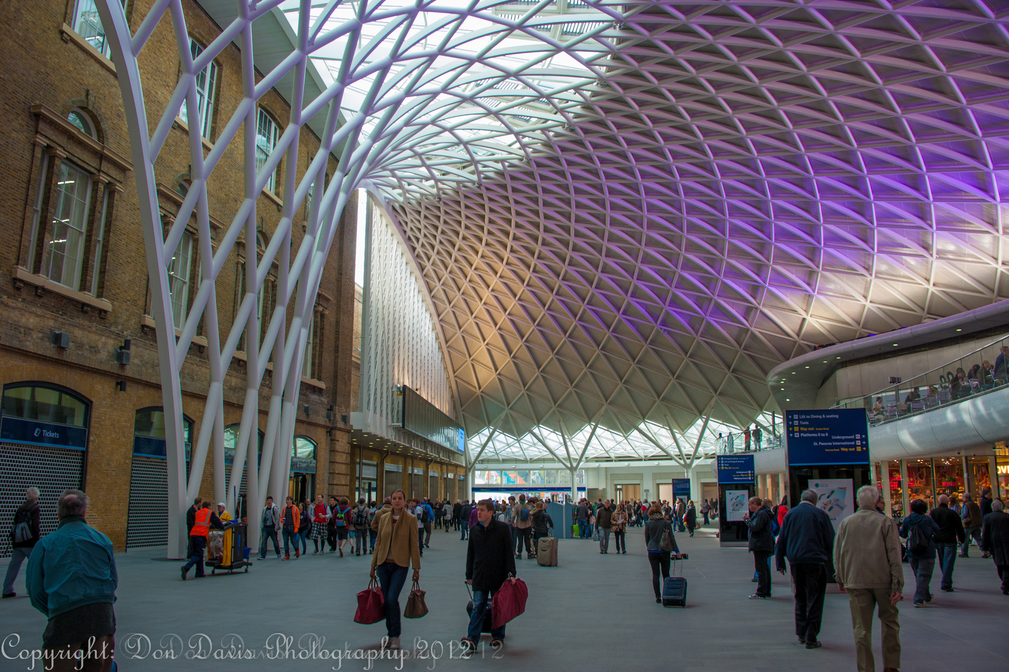 Photograph Kings Cross Station by Donald Davis on 500px