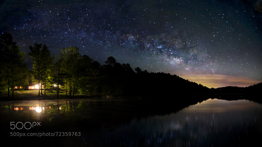 Photograph Clear Night on Smith Lake by Nathaniel Polta on 500px