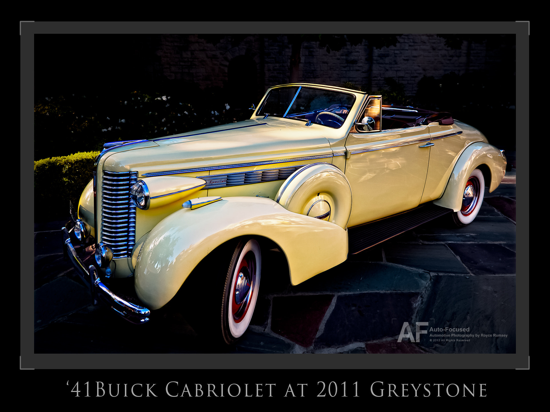 Photograph '41 Buick Cabriolet, Greystone Manor Motorcourt by Royce Rumsey on 500px