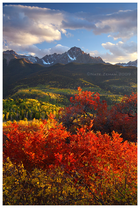 Photograph Autumn Fire by Nate Zeman | natezeman.com on 500px
