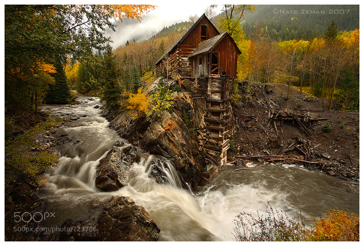 Photograph The Crystal Mill by Nate Zeman | natezeman.com on 500px