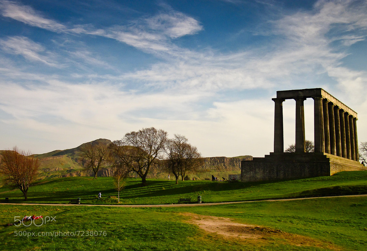 Photograph Edinburgh Hill by Francesco Damin on 500px