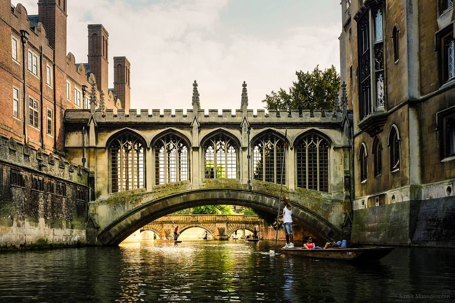 Cambridge by Samit Muangsombut on 500px.com