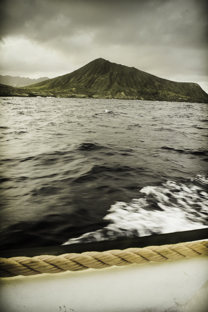 Photograph boat view of Kokohead Crater by Kristen Wheeler on 500px