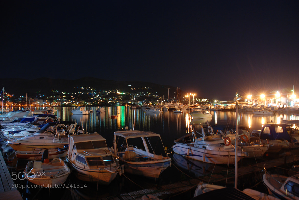 Photograph port by night by Nick Liaropoulos on 500px