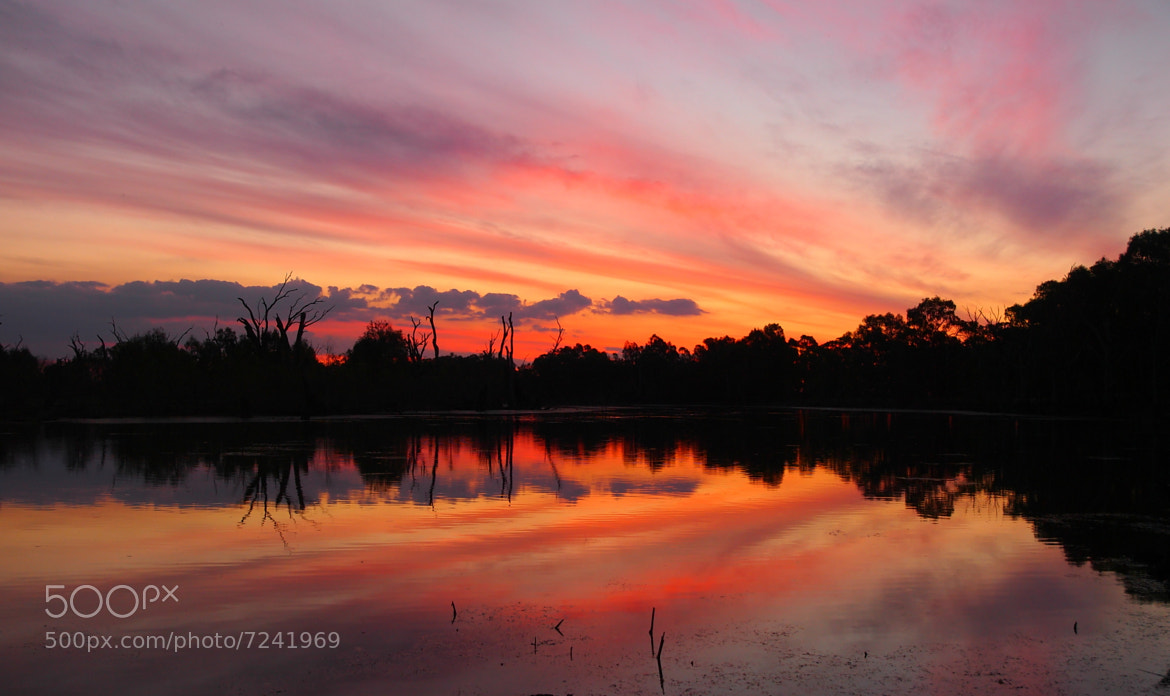 Photograph Lagoon Sunset by Dave Callaway on 500px