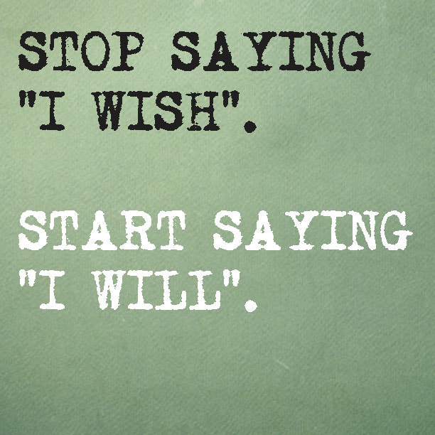 "Say ""I Will"" 