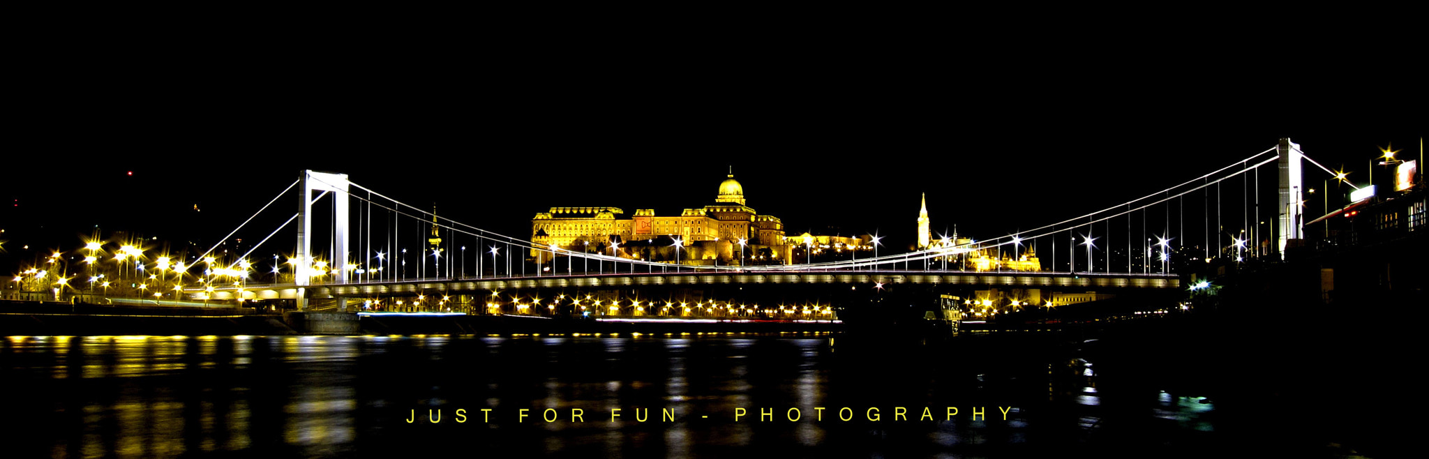 Photograph Elizabeth bridge - Budapest by Just for fun on 500px