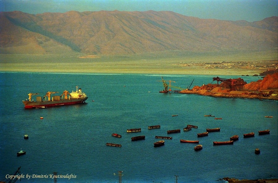 The port of Iquique,1987, Chile de Dimitris Koutsoulaftis en 500px.com