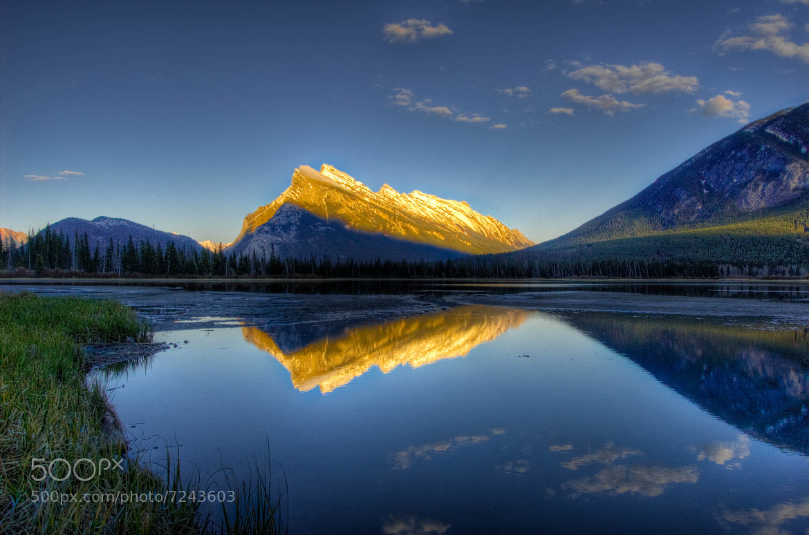 Photograph Mount Rundle Reflections by Meleah Reardon on 500px