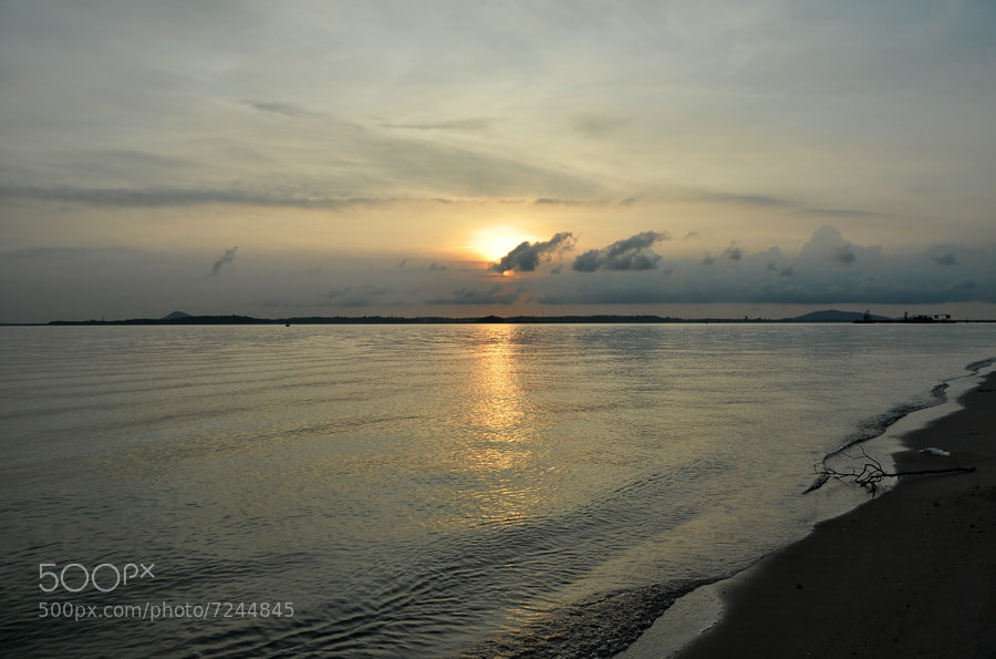 Photograph Sunrise 2,Changi Beach by Khoo Boo Chuan on 500px