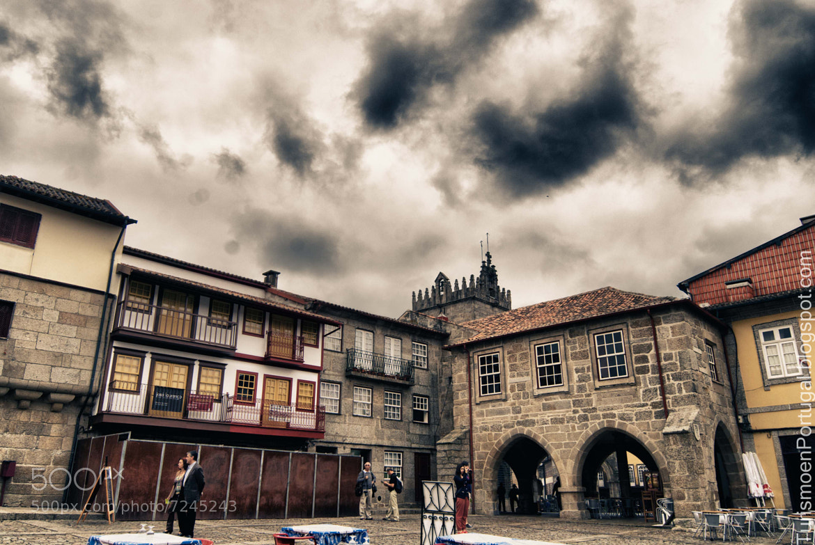 Photograph Praça de Santiago in Guimaraes by Turismo EnPortugal on 500px