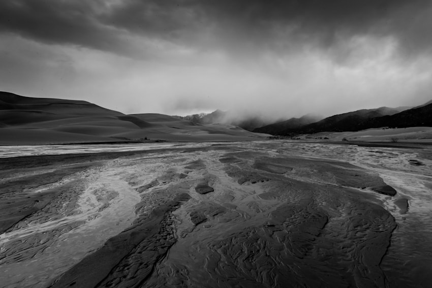 Photograph Stormy Mountain Dunes by Jim Tanton on 500px