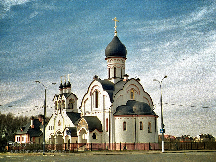 Photograph theme of Church in Potapovo (ver.Lomo) by Andrew Barkhatov on 500px