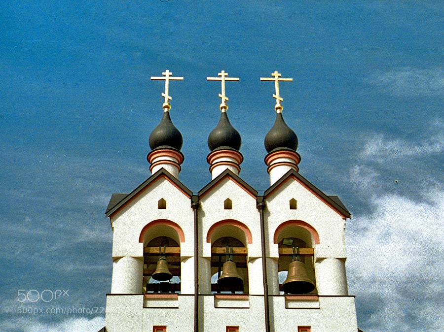 Photograph theme of Church in Potapovo (ver.Lomo#2) by Andrew Barkhatov on 500px