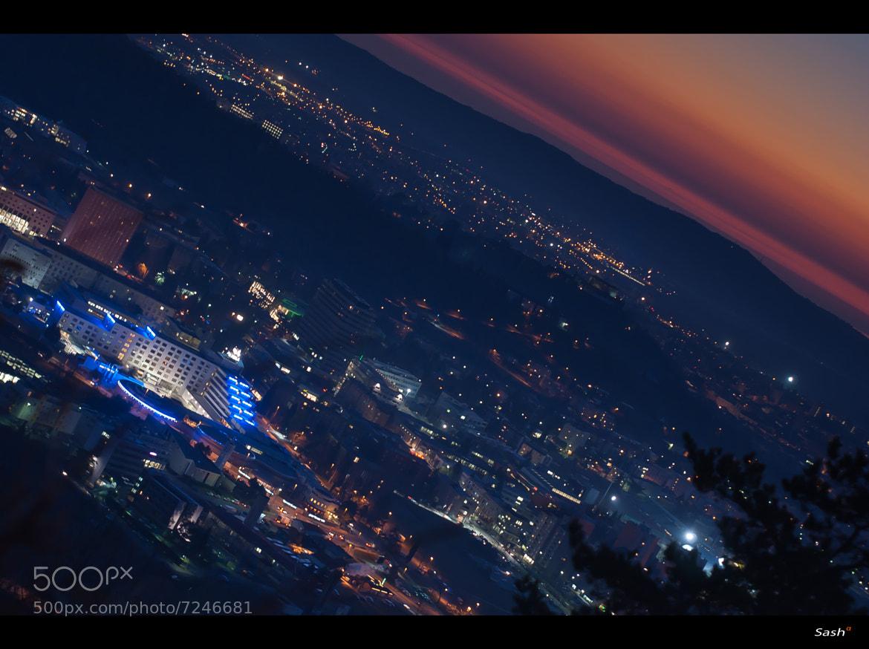 Photograph Nova Gorica by night by Sasa Bremec on 500px