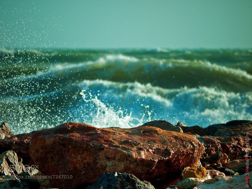 Photograph Almerimar - splatering on rocks by Kasia Sokulska on 500px
