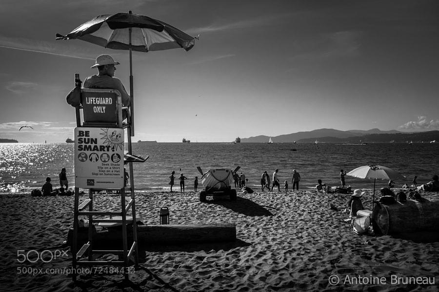 Photograph Life's a Beach by Antoine BRUNEAU on 500px