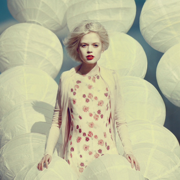 Photograph white portrait by oprisco  on 500px
