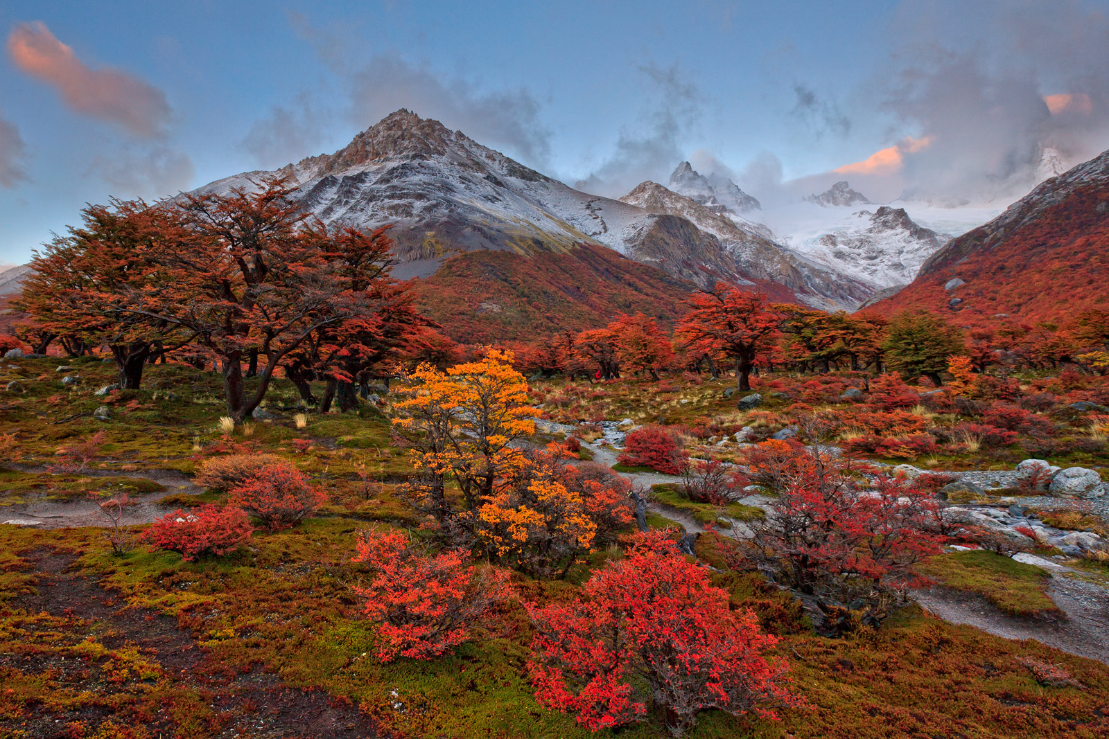 Photograph Patagonia Fall Colors by Helminadia Ranford on 500px