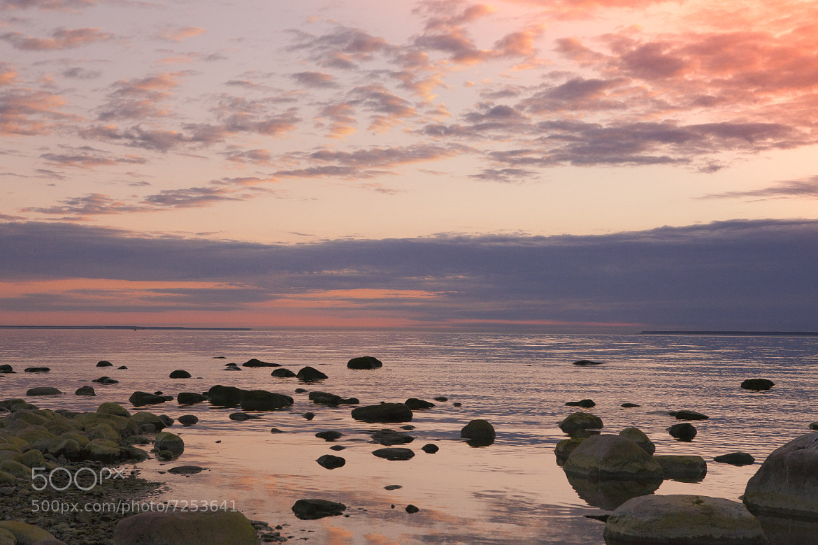 Photograph Sunset on the Baltic Sea by Alla Beskina on 500px