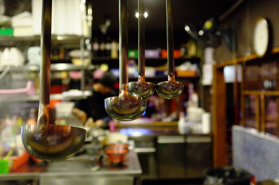 Japanese Open Kitchen by Khem Chen on 500px.com