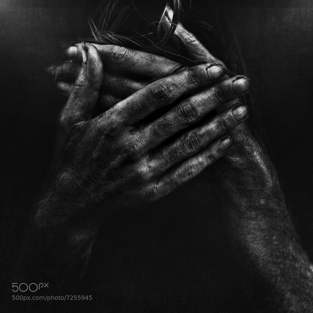 Photograph Sorrow in Miami. by Lee Jeffries on 500px