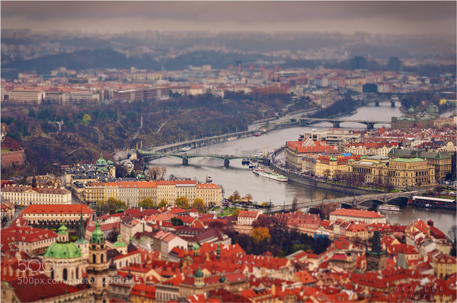Photograph tiltshifted Prague by Kate Eleanor Rassia on 500px