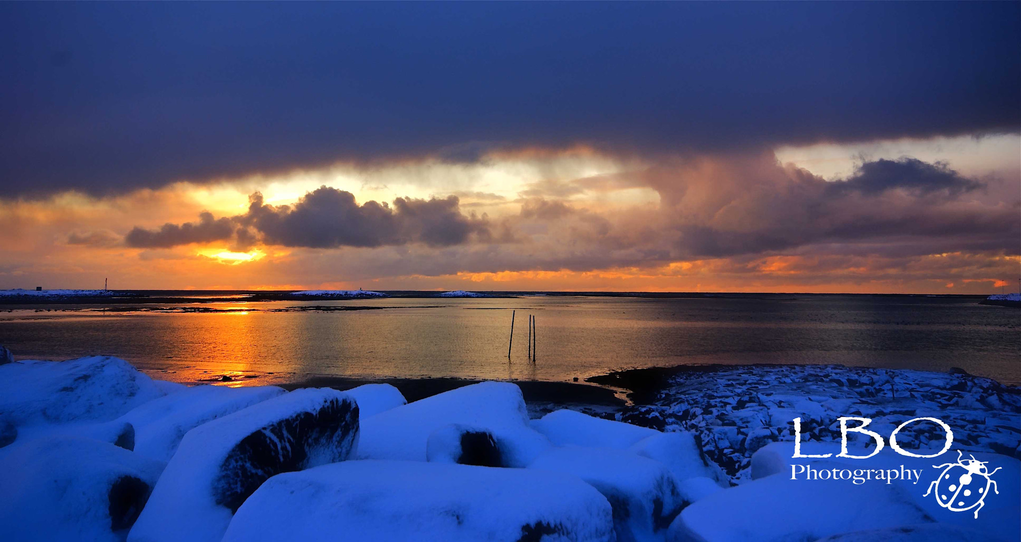 Photograph winter sunset by Linda O'Dell on 500px