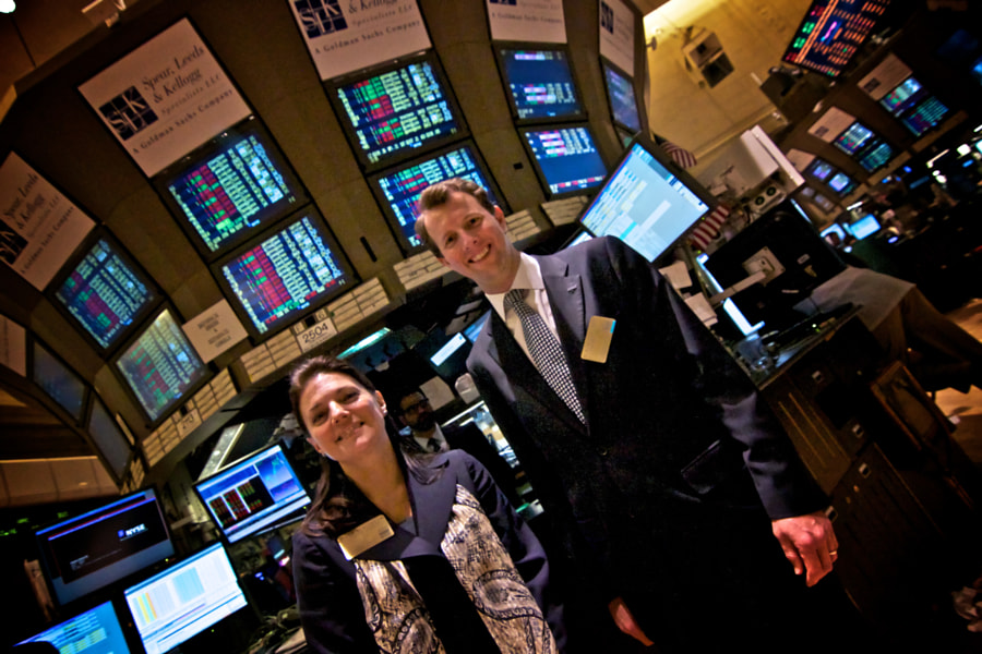NY Stock Exchange Portrait