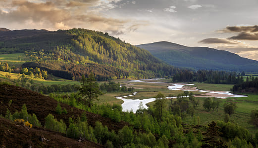 Sunlight on the Cairngorms National Park by Heather Balmain on 500px