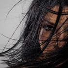 Постер, плакат: Wind Blowing through messy Hair