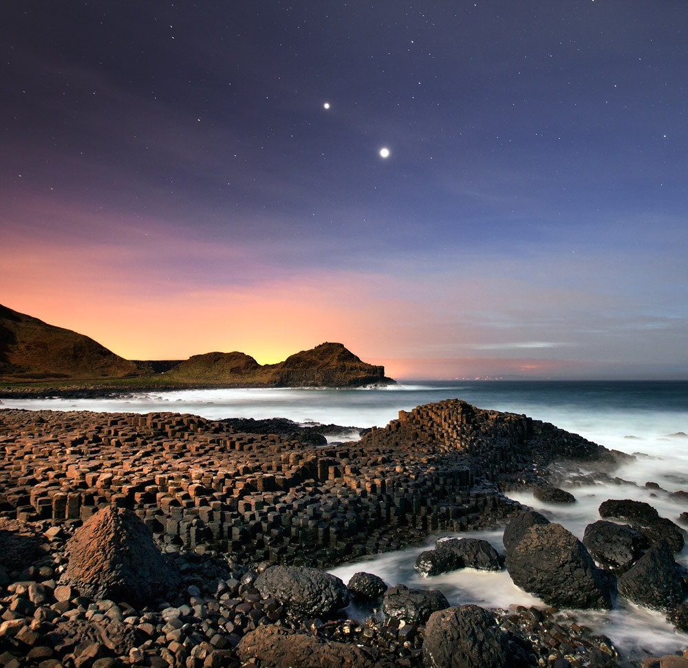 Photograph Causeway Conjunction by Stephen Emerson on 500px