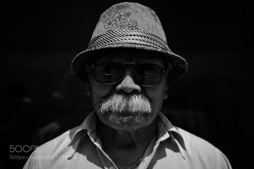 Photograph Mustache by Rinzi Ruiz on 500px