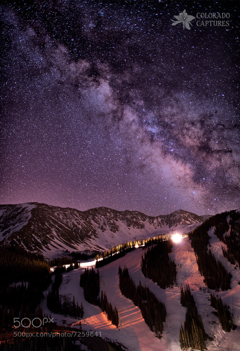 Photograph Starlight Mountain Ski Hill by Mike Berenson - Colorado Captures on 500px