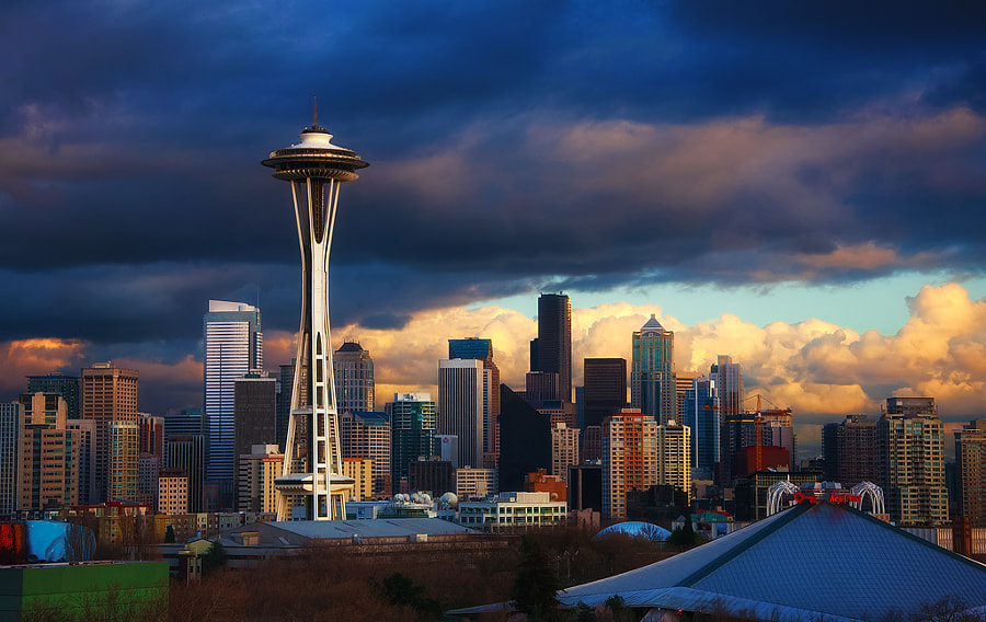 Photograph A Clear Day In Seattle by Gabriel Tompkins on 500px