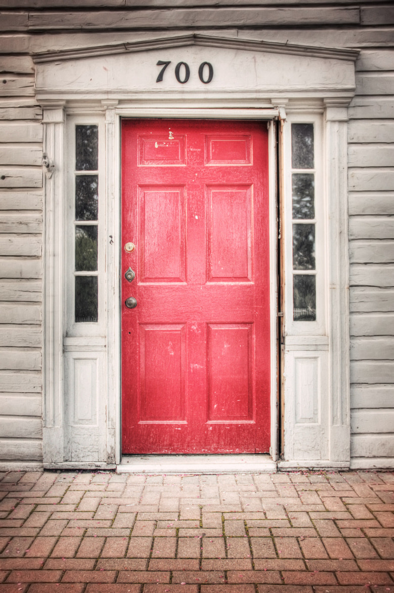 Photograph Red Door by Michael B. Stuart on 500px