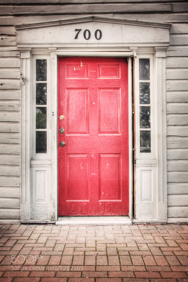 Photograph Red Door by Mike & Nicole Stuart on 500px