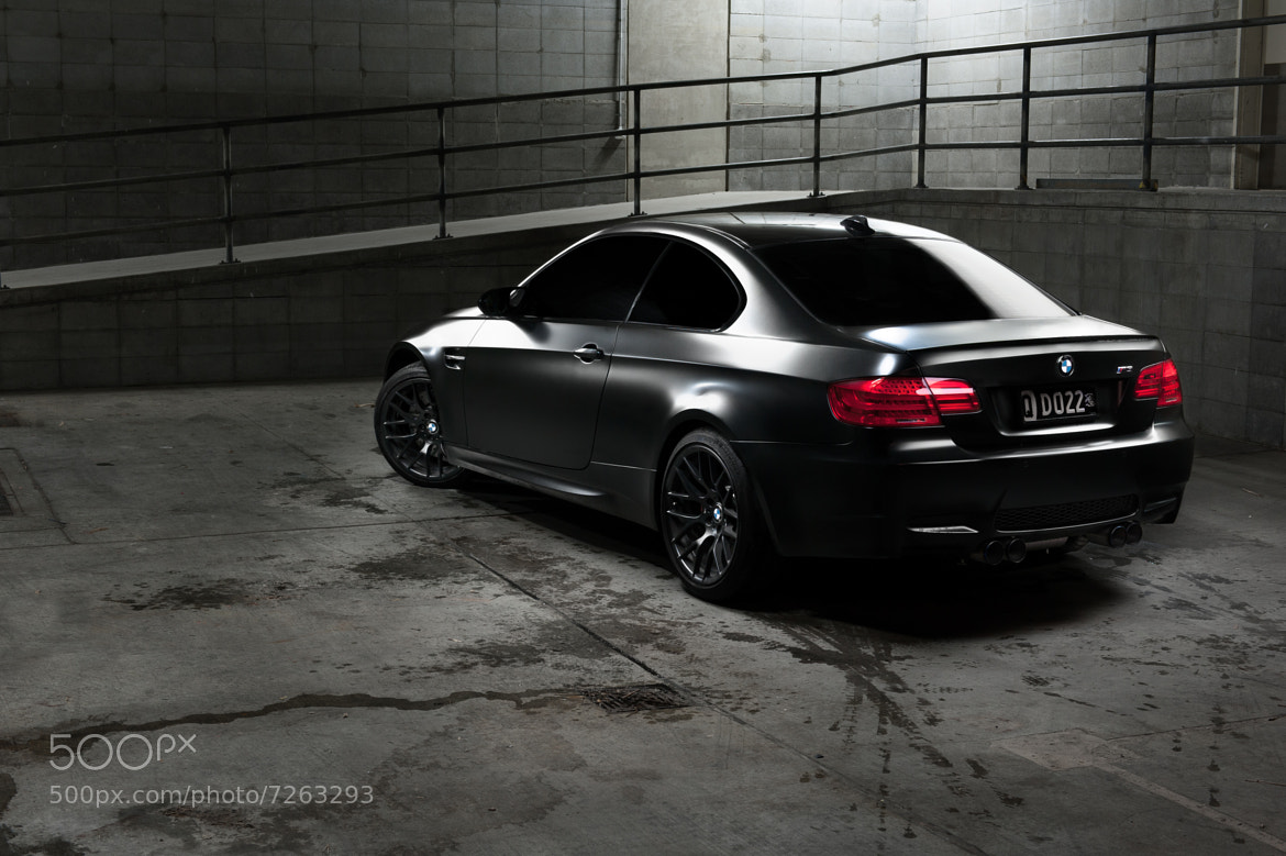 Photograph BMW M3 - Matte Black by PJ Moran on 500px
