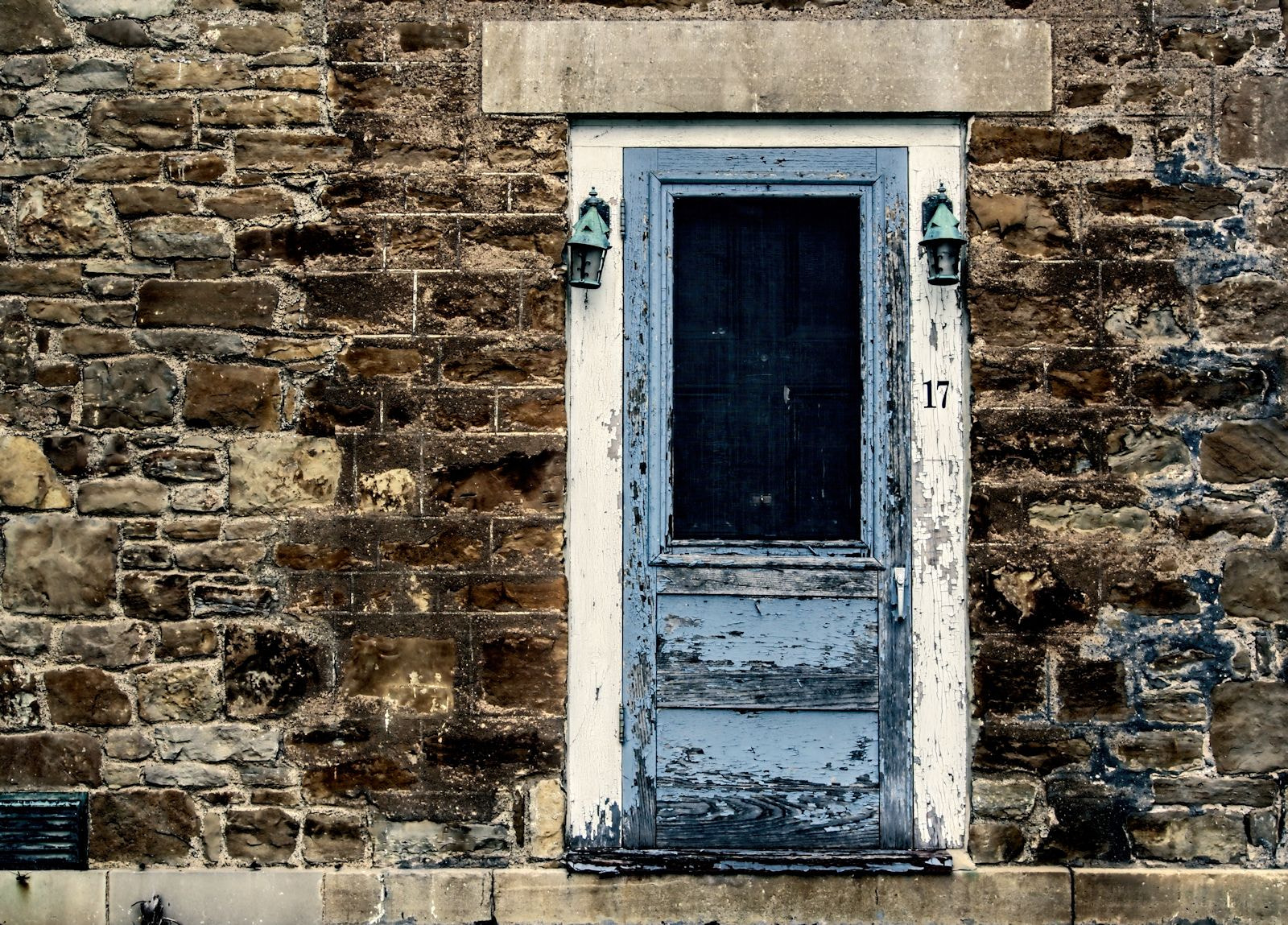 Photograph Blue Door by Grant MacDonald on 500px