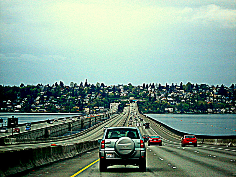 Photograph I-90 PASSING THRU SEATTLE by naveen sharma on 500px