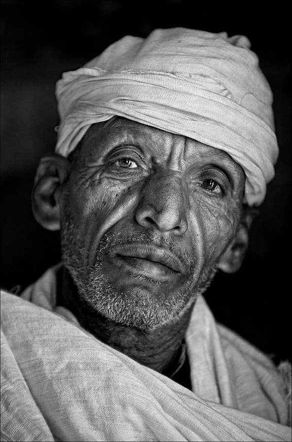 Photograph Gondar Priest (bw) by Doctor Mhuni on 500px