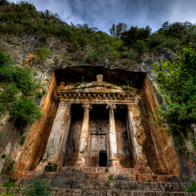 Telmessos Rock Tombs , Turkey by Nejdet Duzen (nejdetduzen)) on 500px.com