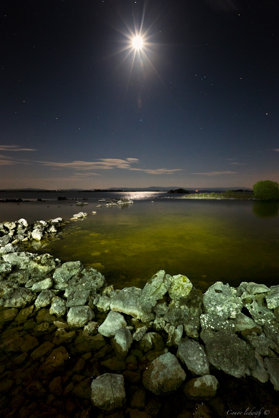 Photograph The Corrib Moon by conor ledwith on 500px