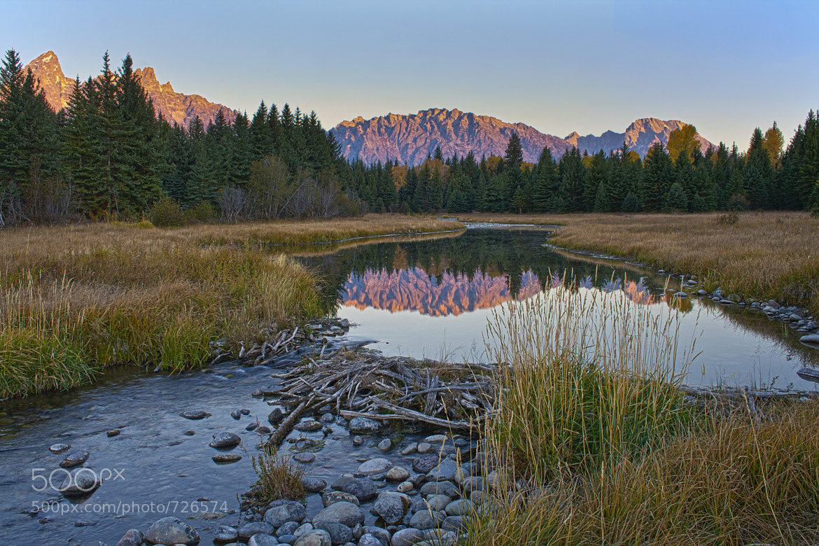 Photograph First Light On A Beaver Pond - Grand Teton National Park by Stan Petersen on 500px