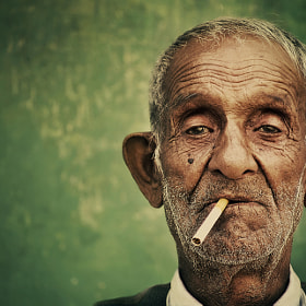 An old man by Silvia S. (SilviaSil) on 500px.com